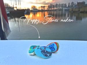 Happy stones of zwerfkeien maken